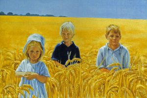 Cooper Children – Oil on Canvas – 60×90 cm