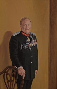 Lt.Gen.R.Brims – Oil on canvas – 90×60 cm